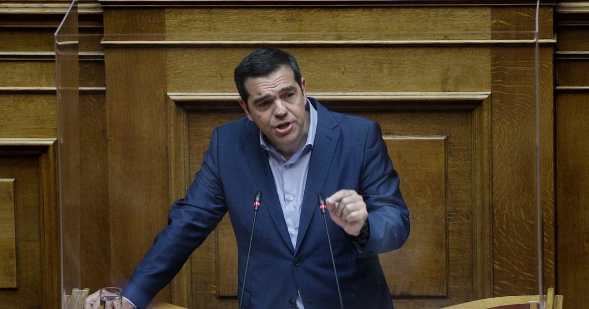 Live: Η ομιλία Τσίπρα στη Κ.Ο του ΣΥΡΙΖΑ μετά τον σάλο από τις 'βόμβες' Καλογρίτσα