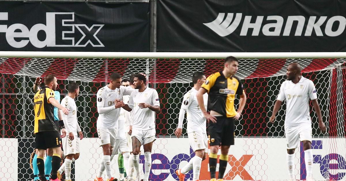 Μπράγκα - ΑΕΚ: Κατώτερη των περιστάσεων η Ένωση, έχασε με 3-0 στην πρεμιέρα της στο Europa League