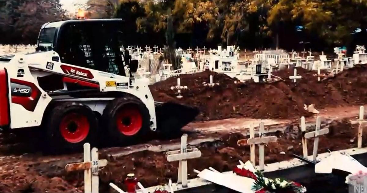 Εκατοντάδες τάφοι στη Θεσσαλονίκη για τα θύματα του κορονοϊού - Σοκάρουν οι εικόνες στα νεκροταφεία [Βίντεο]