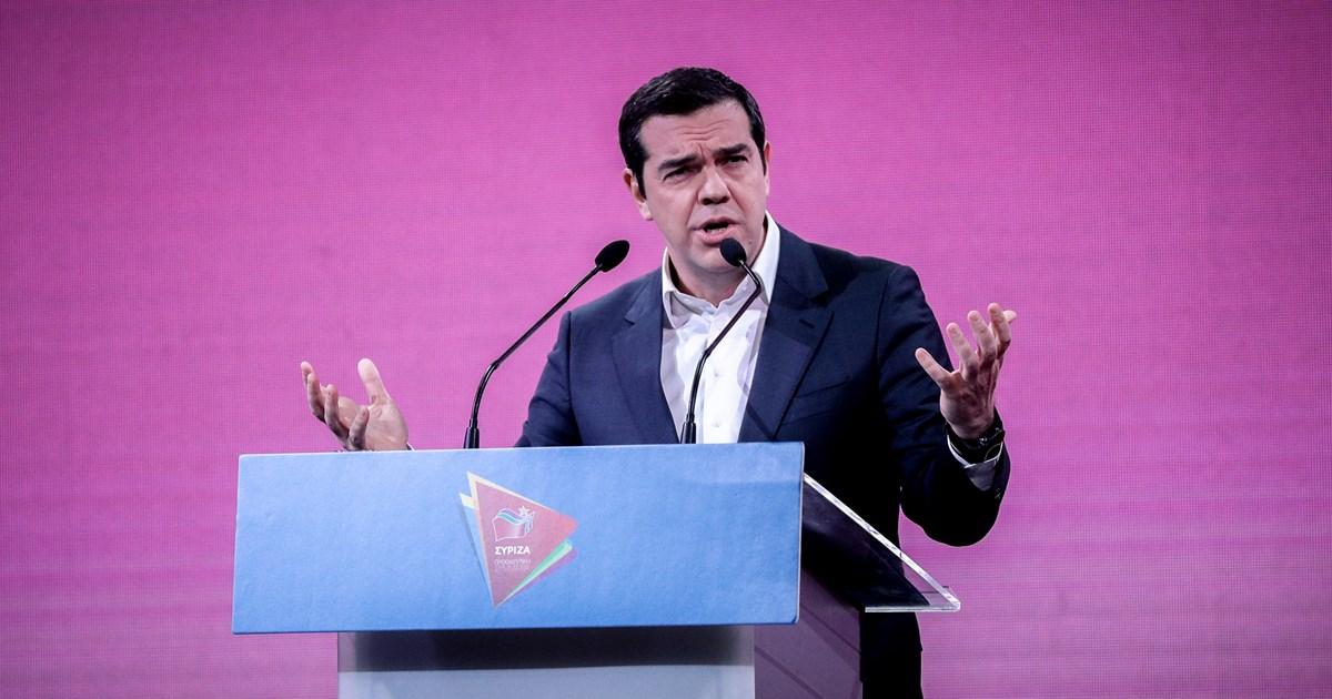 Πρόγραμμα 'Μένουμε Όρθιοι': Πρόγραμμα 26 δισ. για την Οικονομία παρουσίασε ο Τσίπρας