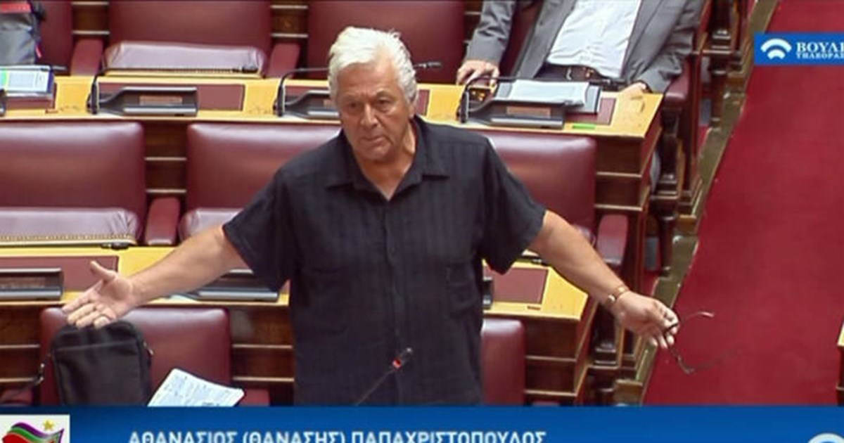 Απίστευτος Παπαχριστόπουλος: Aποκτήσαμε ανοσία στον κορονοϊό λόγω των Κινέζων που ζουν στην Ελλάδα