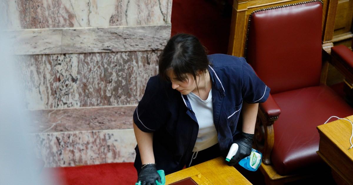 Αρνητικά όλα τα τεστ για κορονοϊό στη Βουλή - Εξετάστηκαν 1.020 άτομα