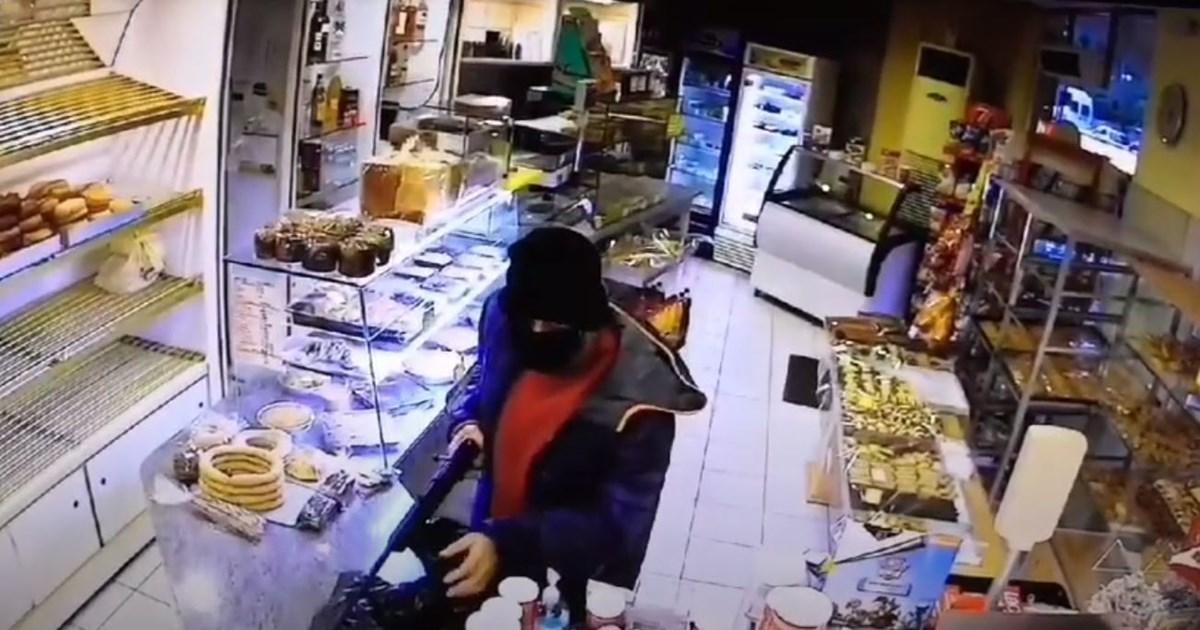 Νέα Ιωνία: Βίντεο ντοκουμέντο - Συνελήφθη ο... ατζαμής ληστής με το φλόμπερ