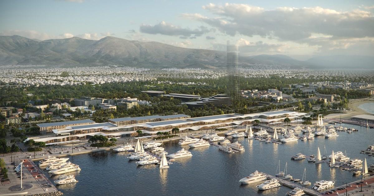 Ελληνικό: Η εντυπωσιακή Marina Galleria που παρουσίασε η Lamda – Ανοιχτό…