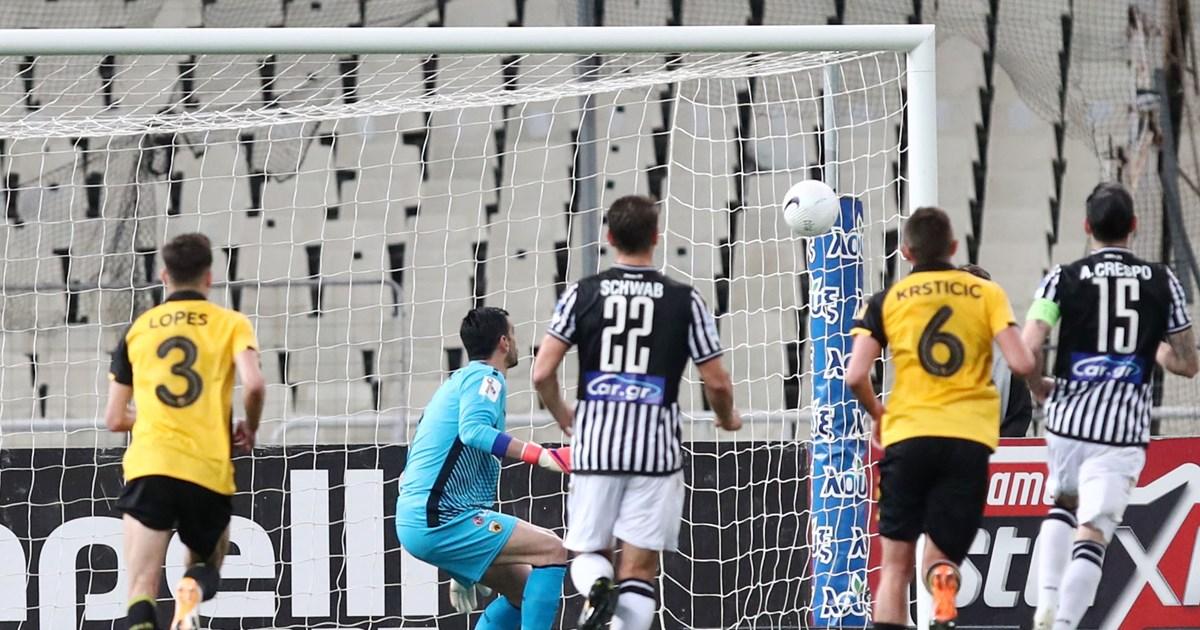 Κύπελλος Ελλάδος: Ξέρανε την ΑΕΚ στο 94' ο ΠΑΟΚ - Διπλό πρόκρισης 0-1 με γκολάρα του Μουργκ