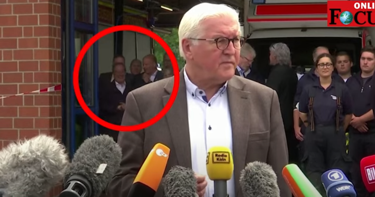 Σάλος στη Γερμανία: Ο Λάσετ γελά ενώ ο Σταϊνμάιερ εκφράζει τη θλίψη του…