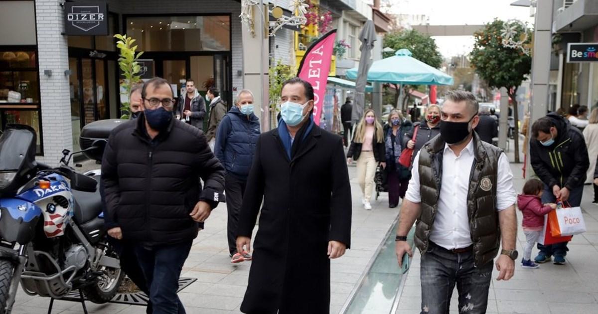 Προειδοποίηση Γεωργιάδη για τον κόσμο που συνωστίζεται στα καταστήματα: Να προσέξουμε, θα είναι κρίμα να πάμε πίσω