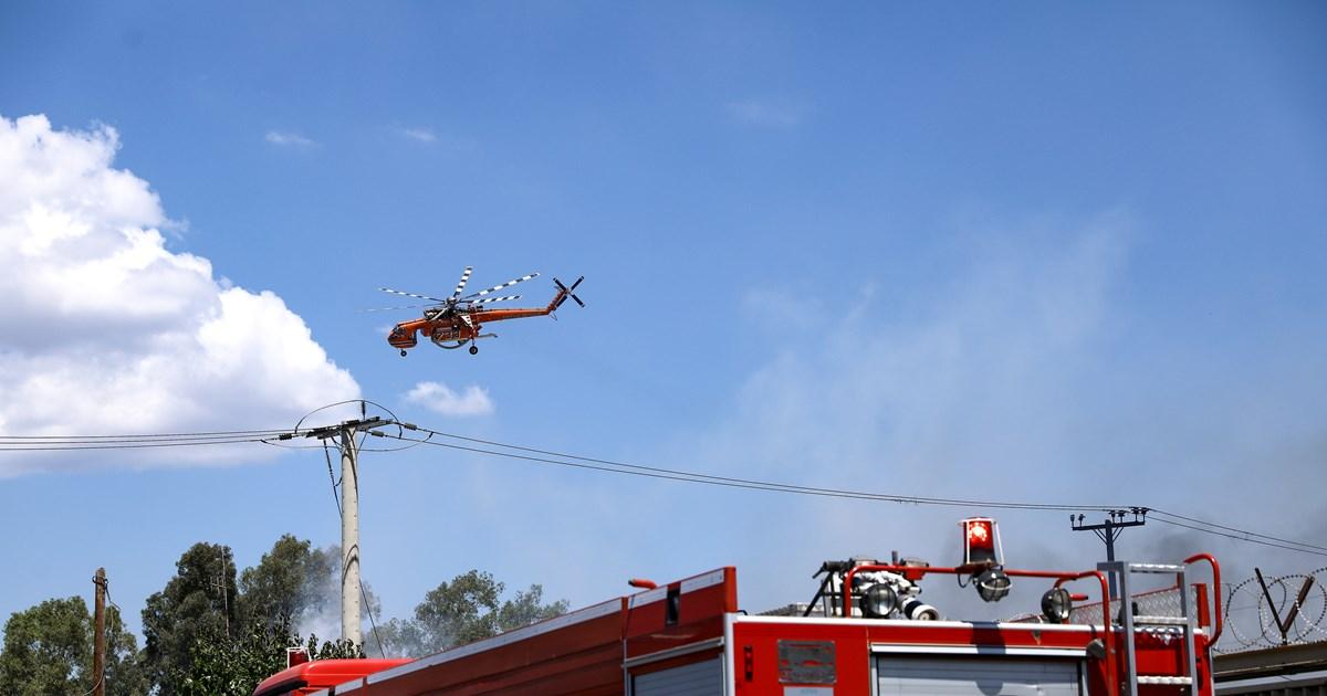 Φωτιά στη Δράμα: Κινητοποίηση της Πυροσβεστικής στο Κάτω Νευροκόπι