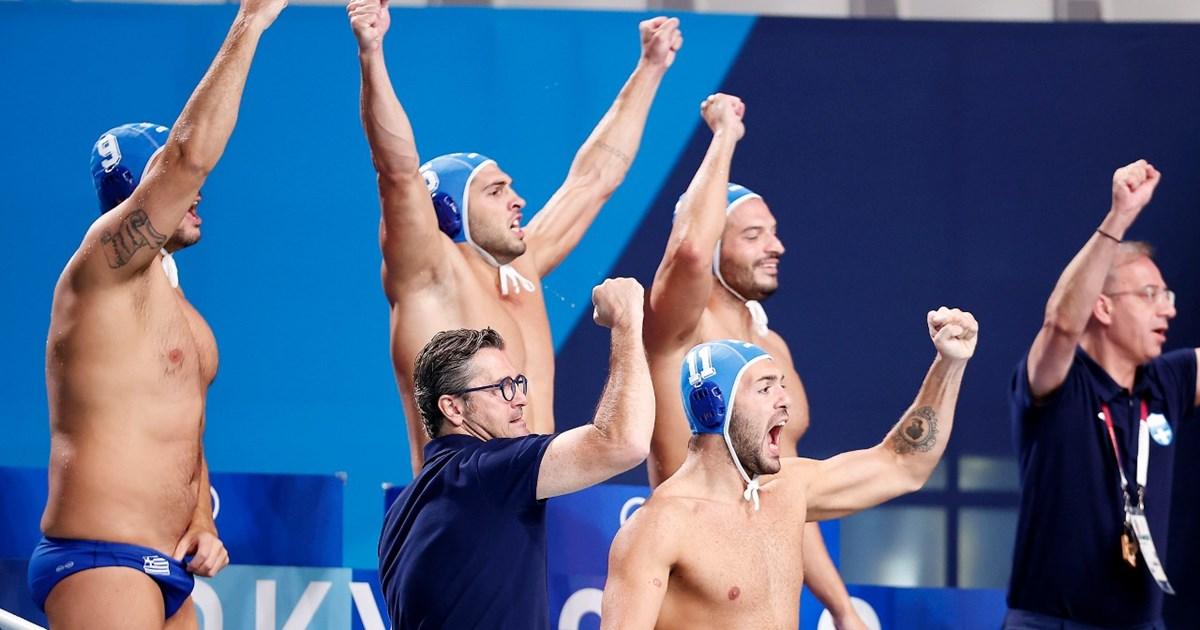Ολυμπιακοί Αγώνες - Πόλο: Καταιγιστική η Ελλάδα - Συνέτριψε τη Νότια Αφρική με 28-5