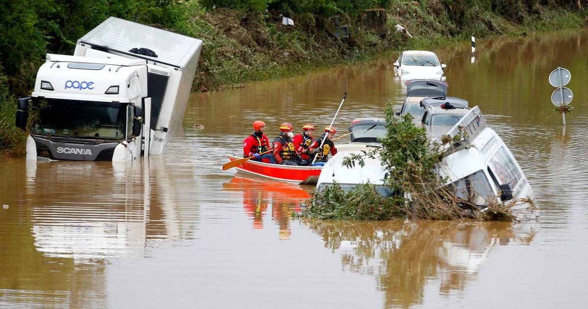 Φονικές πλημμύρες στην Ευρώπη: Εκατοντάδες νεκροί και αγνοούμενοι -Εικόνες …