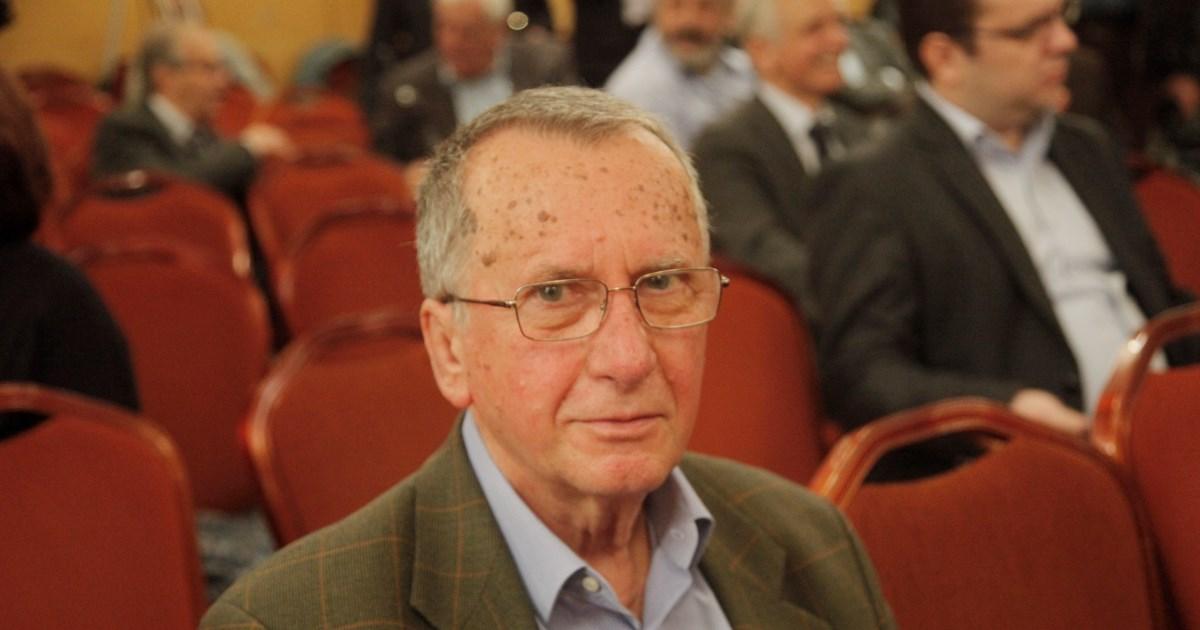 Πέθανε ο πρώην υπουργός του ΠΑΣΟΚ, Γιώργος Δρυς